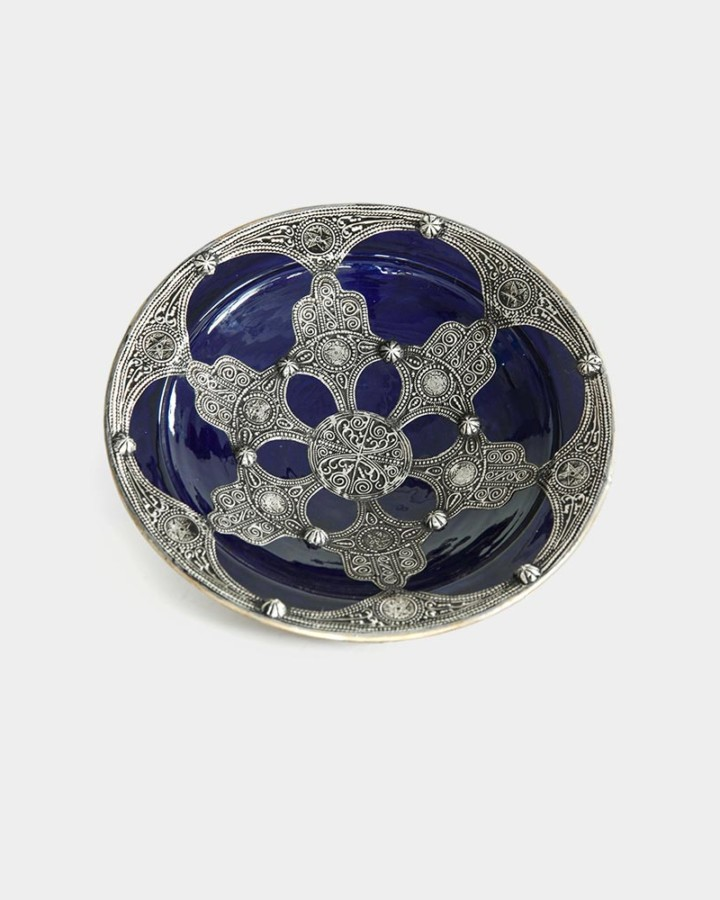 Marrakech plate navy