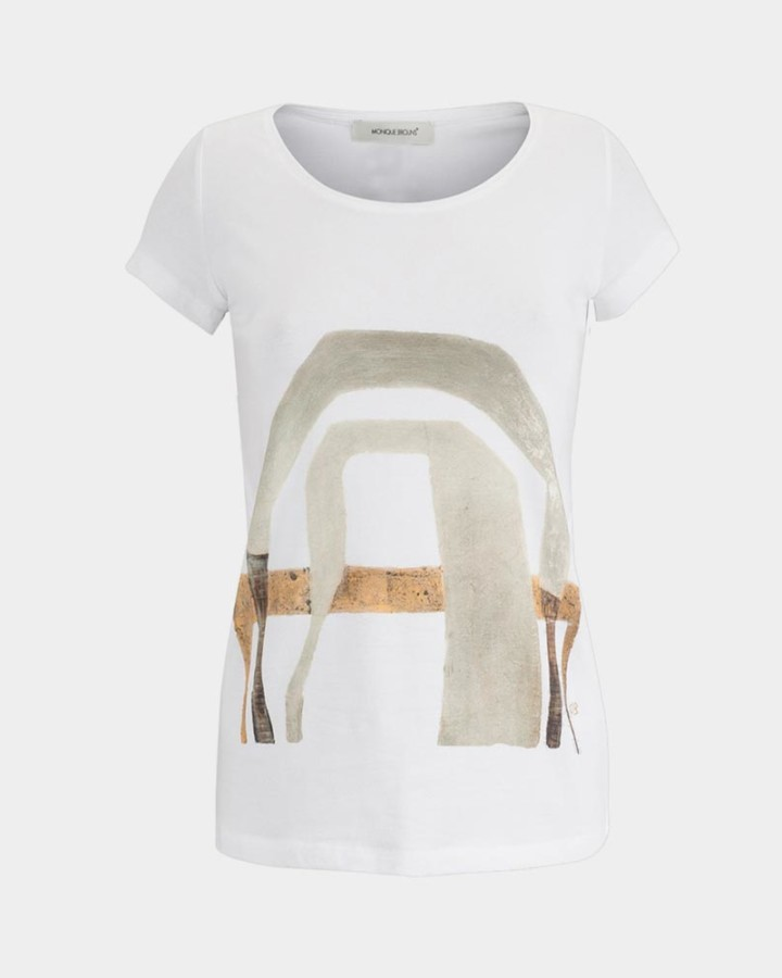 tee artprint white