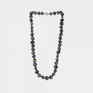pearl necklace antracite