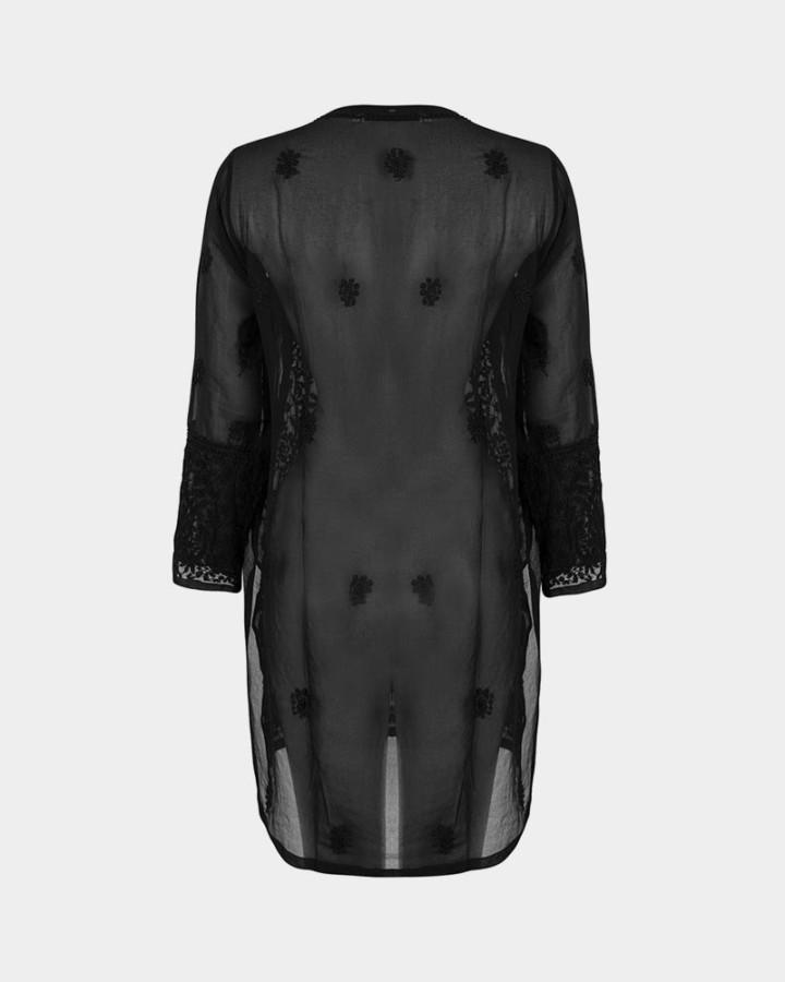 black tunic back