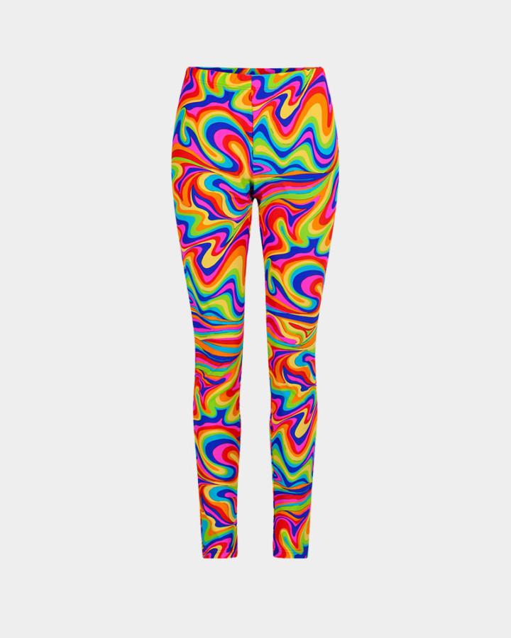 multicolor legging front