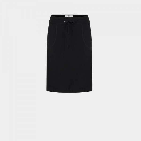 black skirt front