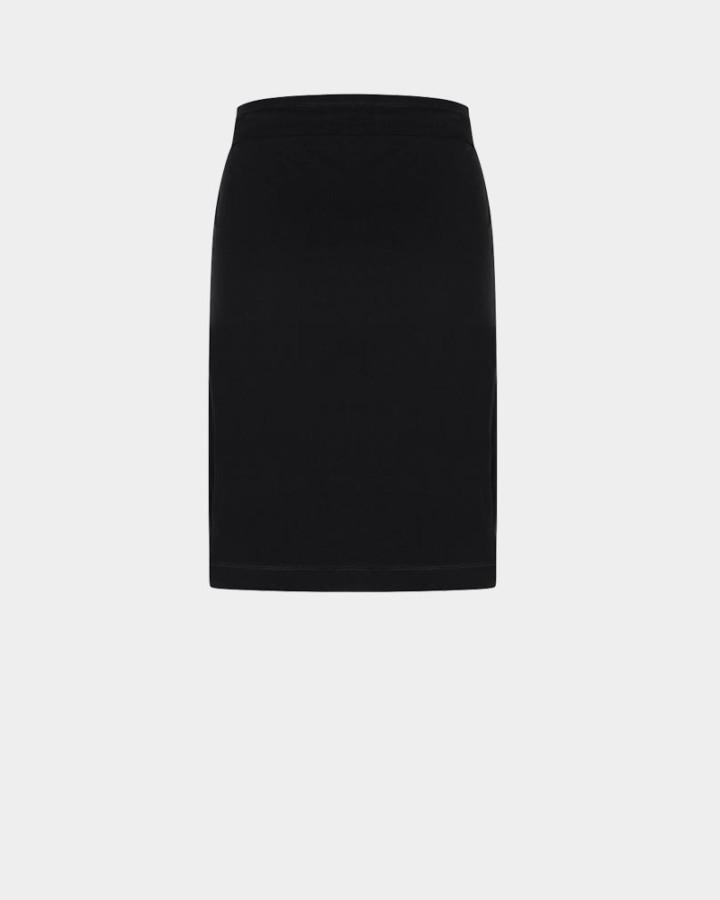 black skirt back