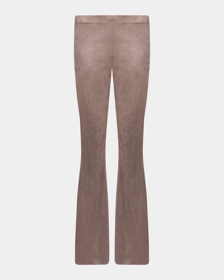 taupe flared pants/taupe flare broek