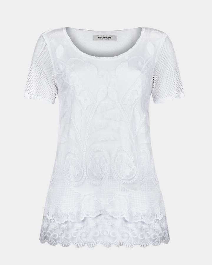 white lace top / wit kanten top