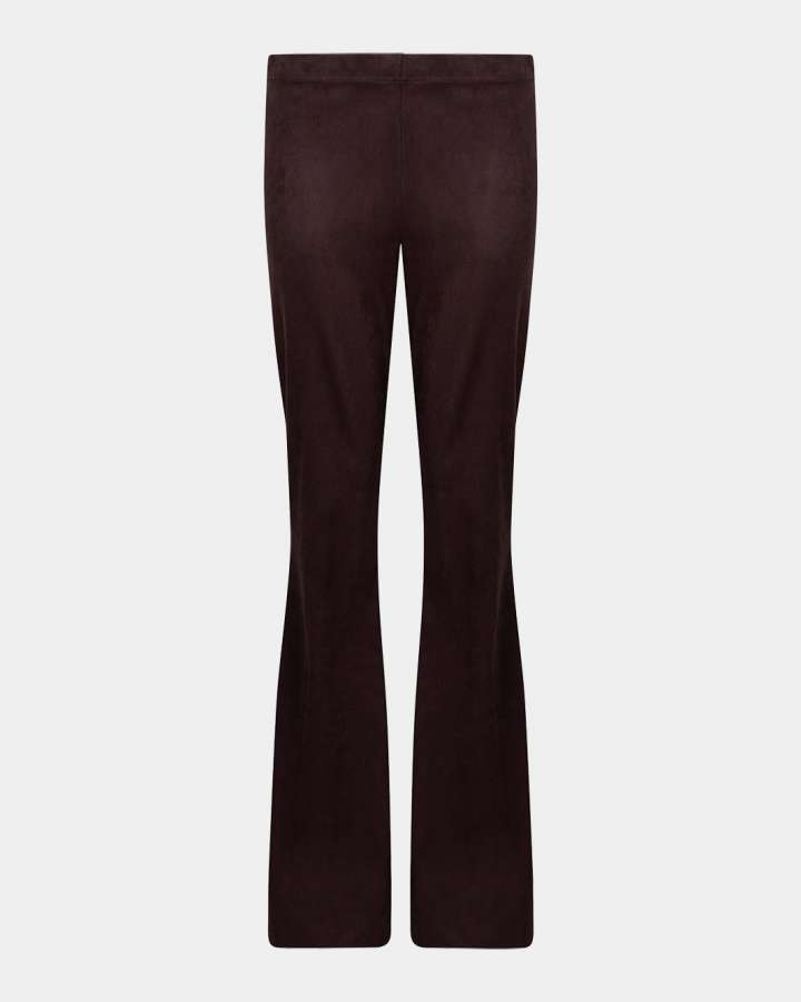 dark brown flared pants/donkerbruin flare broek