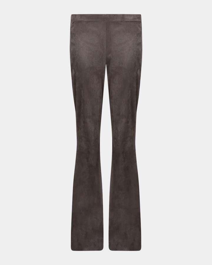 olive green flared pants/olijf groen flare broek