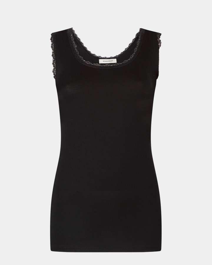 black/zwart singlet