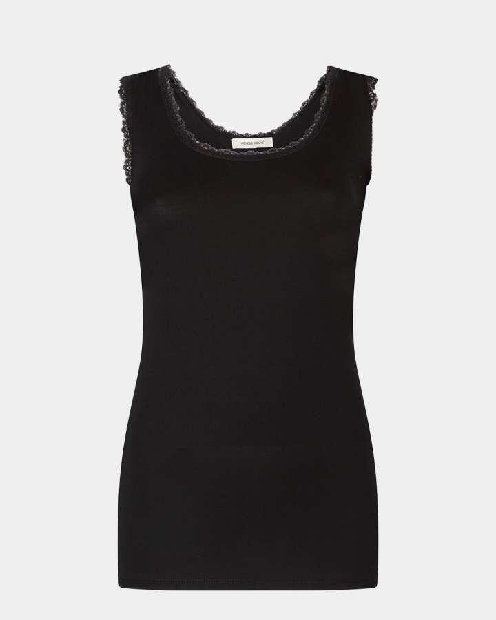 black singlet / zwart singlet