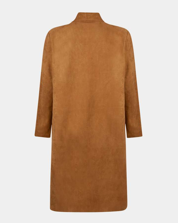 sand coat / zandkleurig jas