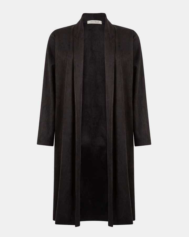 black coat / zwarte jas