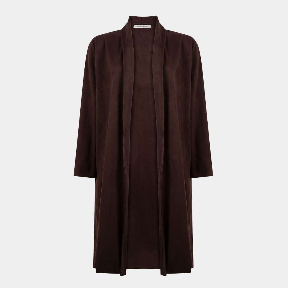 dark brown coat / donkerbruin jas