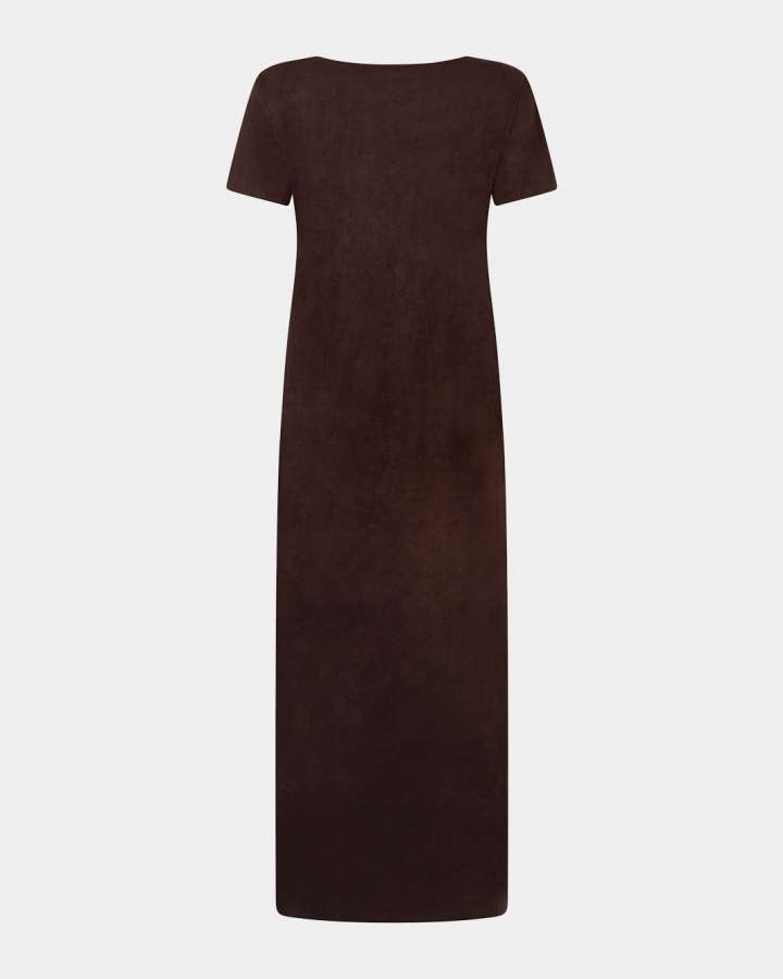 dark brown dress / donkerbruine jurk