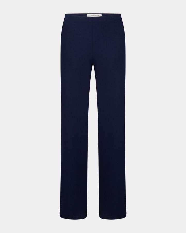 navy-marine flared pants/ navy-marine flare broek