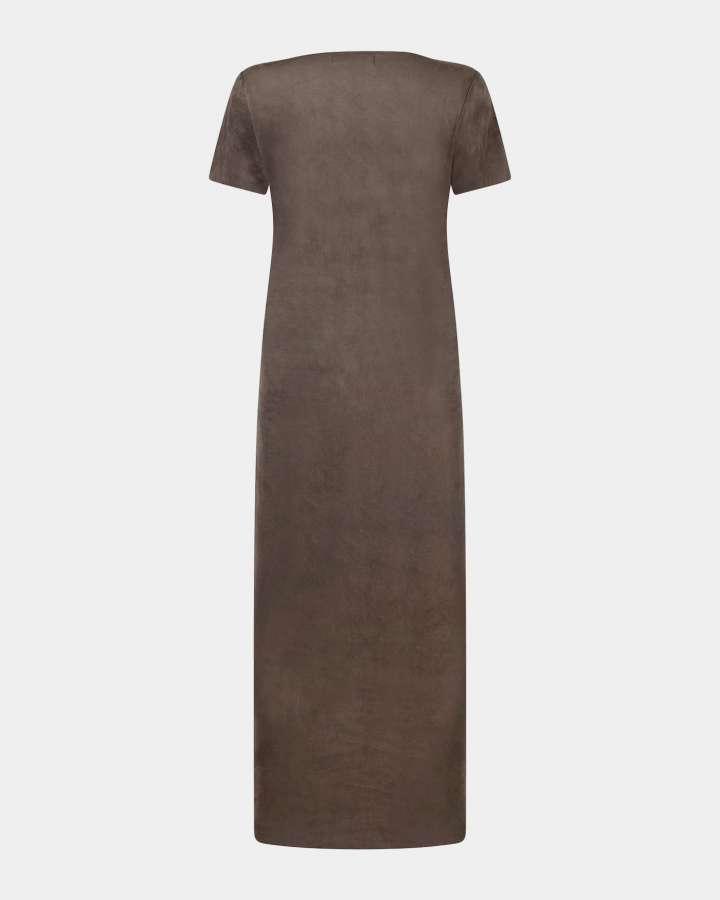 taupe dress / taupe jurk