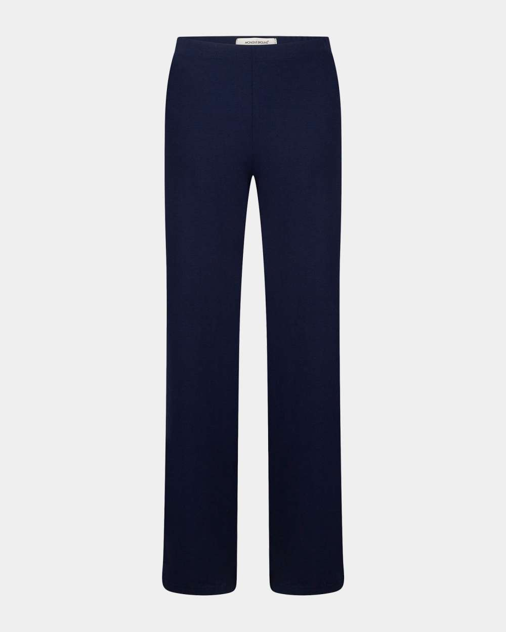 navy-marine flared pants/ navy-marine flare broek