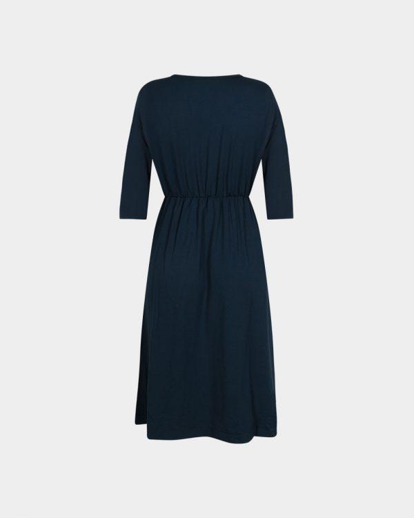 short dress in petrol