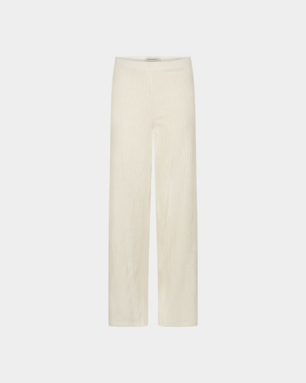 Wide pants in off-white