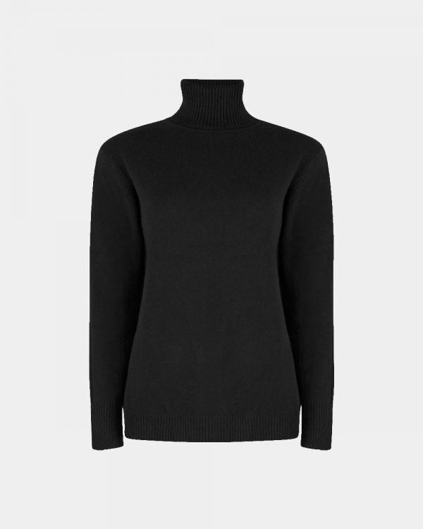 roller collar pull black