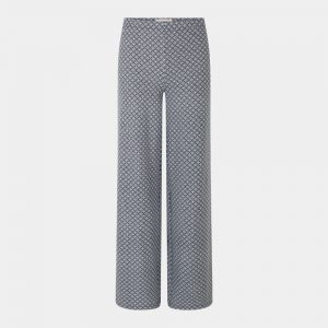 wide pants print