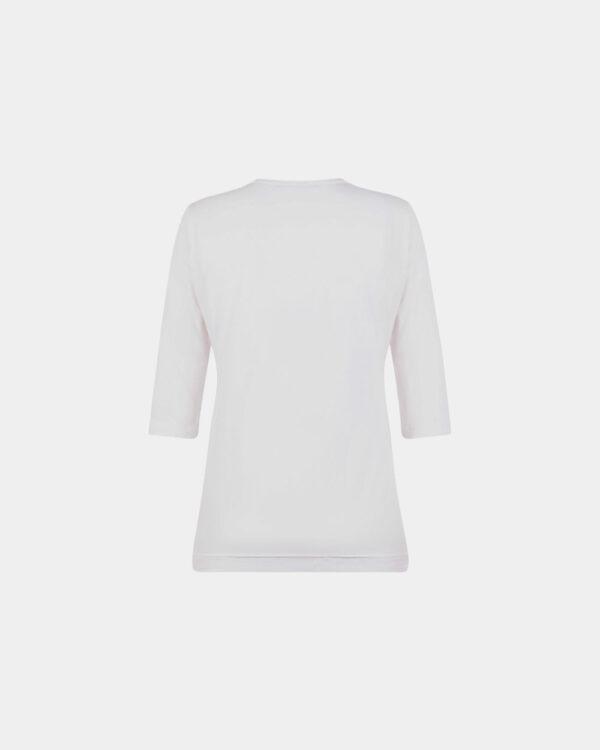 wrap top white back