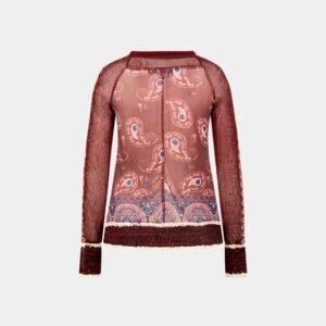 top knit bordeaux back