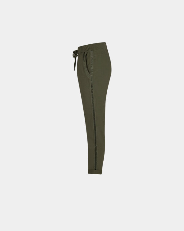 City Jogging Pants Army Green side