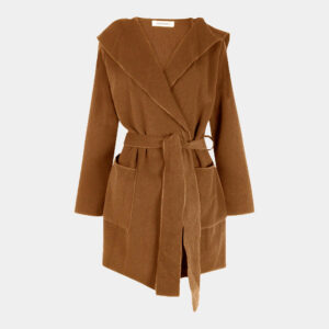 tabacco loose unlined jacket front